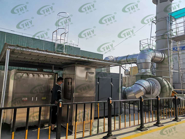 亿纬锂能废气处理工程2