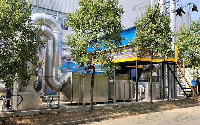 湖南南方通用航空发动机有限公司喷漆废气治理工程1