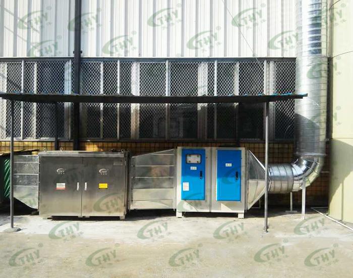 深圳深开电器实业有限公司喷涂废气处理工程1