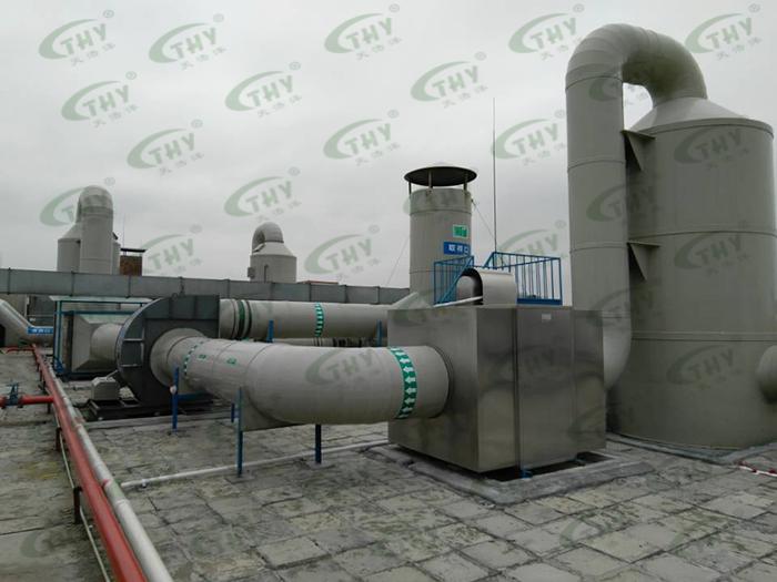 深圳市冠恒新材料科技有限公司有机废气处理工程1
