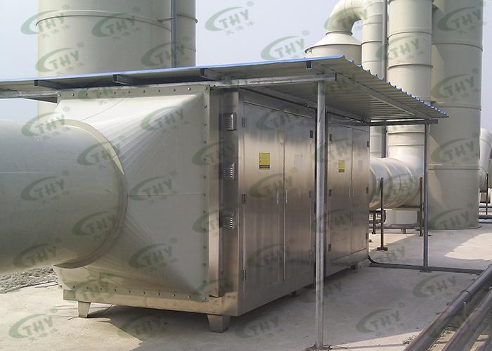 湖州市环境卫生管理处餐厨垃圾处理臭气处理工程1