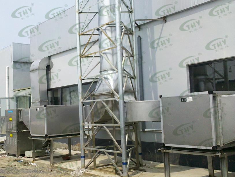 上海福润肉类加工有限公司(雨润集团)屠宰场恶臭气体处理工程