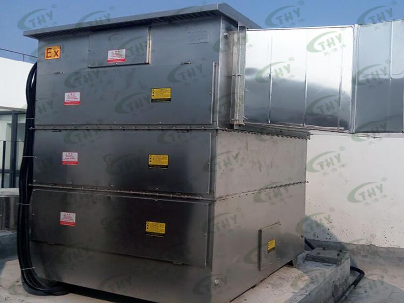 阳江核电-实验室动植物尸体加热碳化臭气净化工程