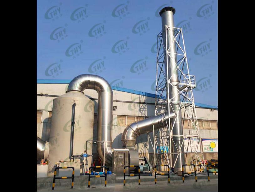 瀚洋环保活性炭吸附设备废气处理工程