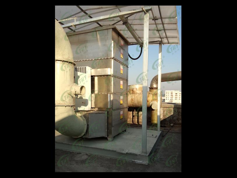 海天食品UV光解除臭装置废气处理工程