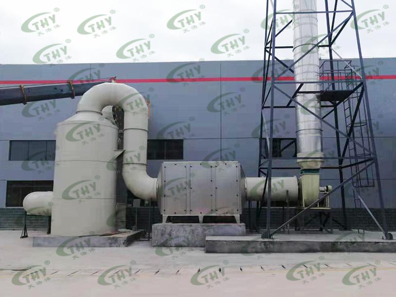 四川环科美能环保科技有限公司危废物废气处理工程