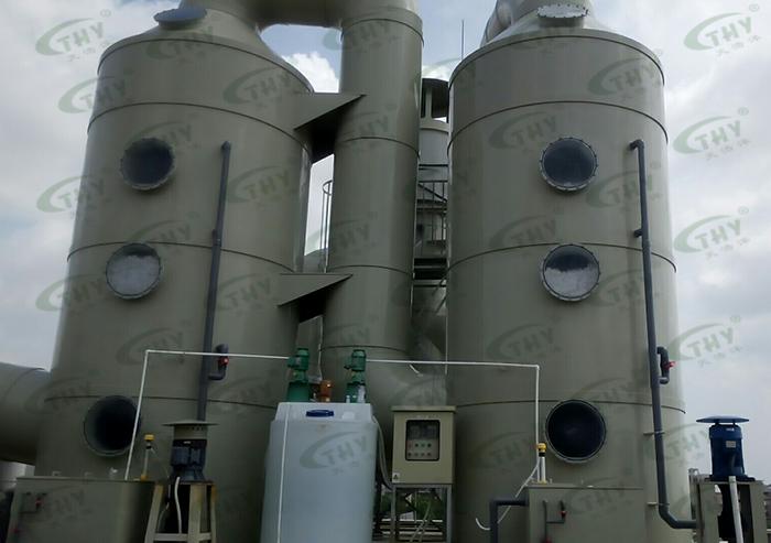 江门亿都半导体废气处理工程1