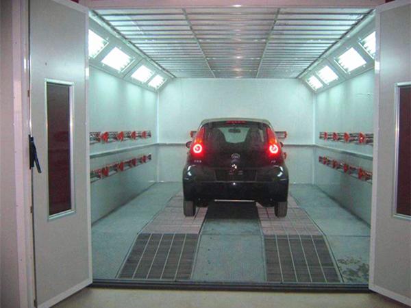 汽车4S店喷漆废气处理方法