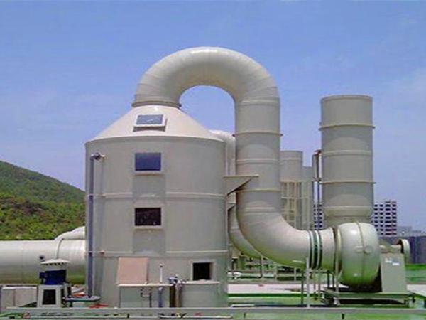 酸碱废气处理工艺流程