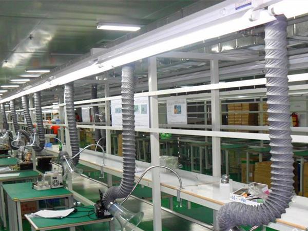 焊锡废气处理方法