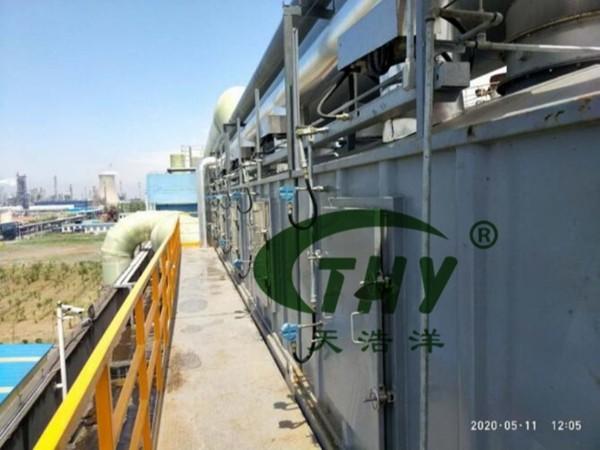 清博生态材料废气治理项目竣工