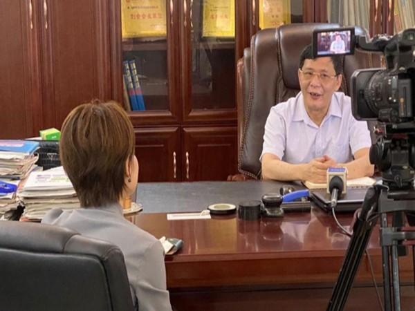 深圳卫视对我司进行企业专题采访报道
