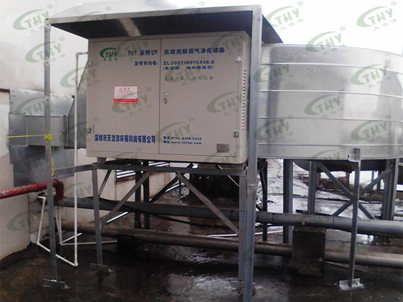 深圳比亚迪股份有限公司宝龙厂注液区的电解液产生废气净化工程