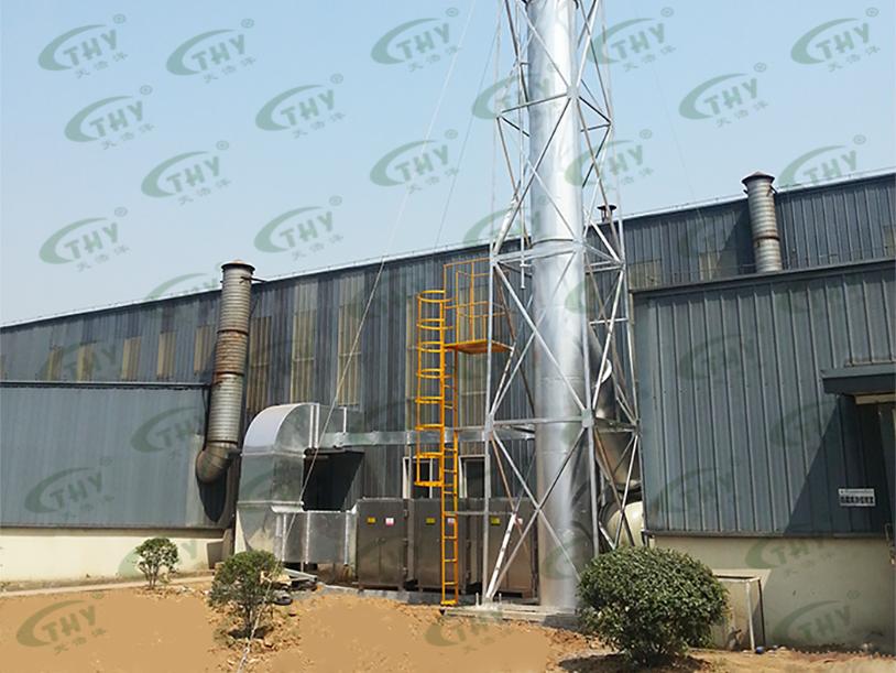 南京巨龙钢管有限公司喷漆废气处理工程