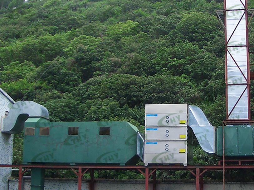 深圳蓝盾之星科技有限公司废水池废气处理工程