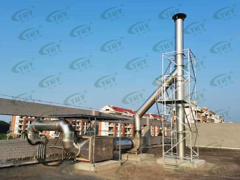 广西防城港核电有限公司碳化室废气处理工程