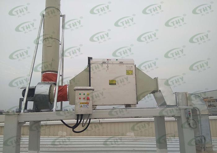 长城汽车股份有限公司XEV试验中心废气处理工程1